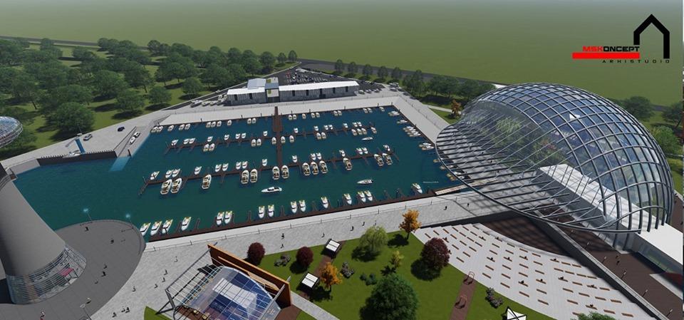 Portul Turistic și de Agrement care urmează să fie amenajat pe malul brațului Borcea | Divers Media